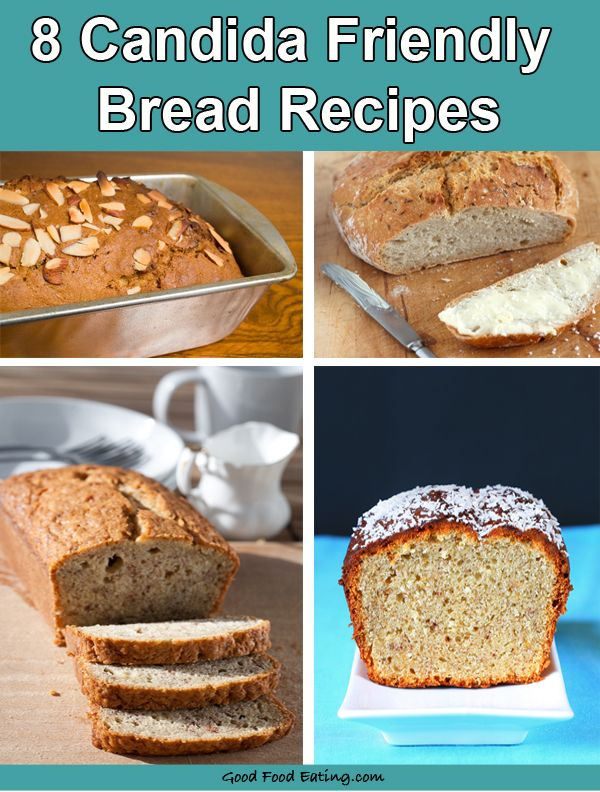 candida friendly breads