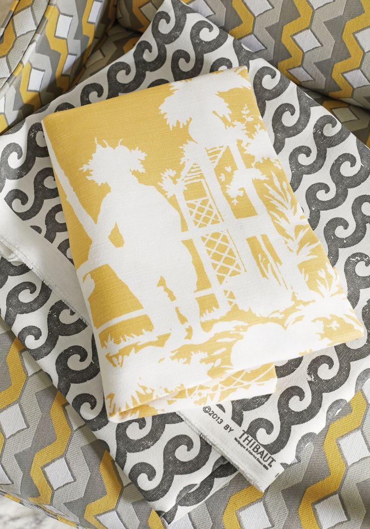 134 best Thibaut Fabric & Wallpaper images on Pinterest | Fabric ...