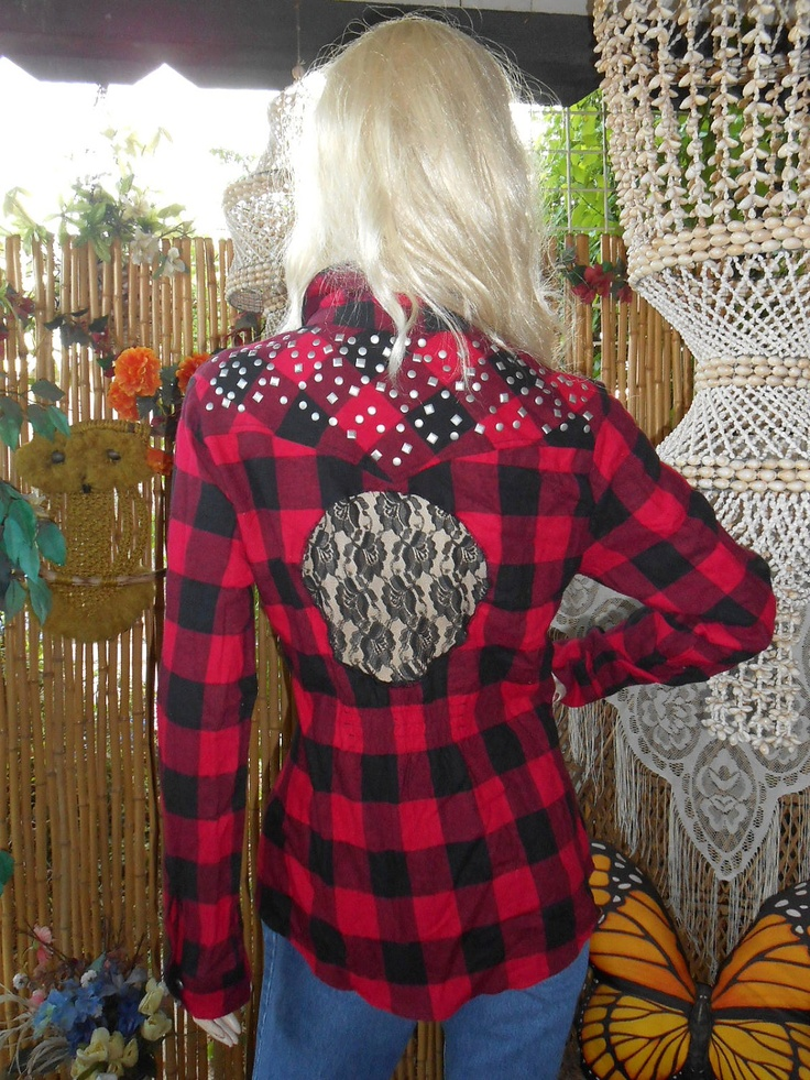 how to make a shirt bigger with lace