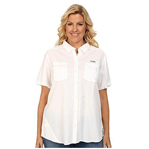 (コロンビア) Columbia レディース 半袖シャツ Plus Size Bonehead II S/S Shirt White 1X    レディース参考サイズ USサイズ バスト(cm) ウエスト(cm) ヒップ(cm) XS(4) 33.5(85cm) 25.5(65cm) 35.5(90cm) S(6-8) 34.5-3...