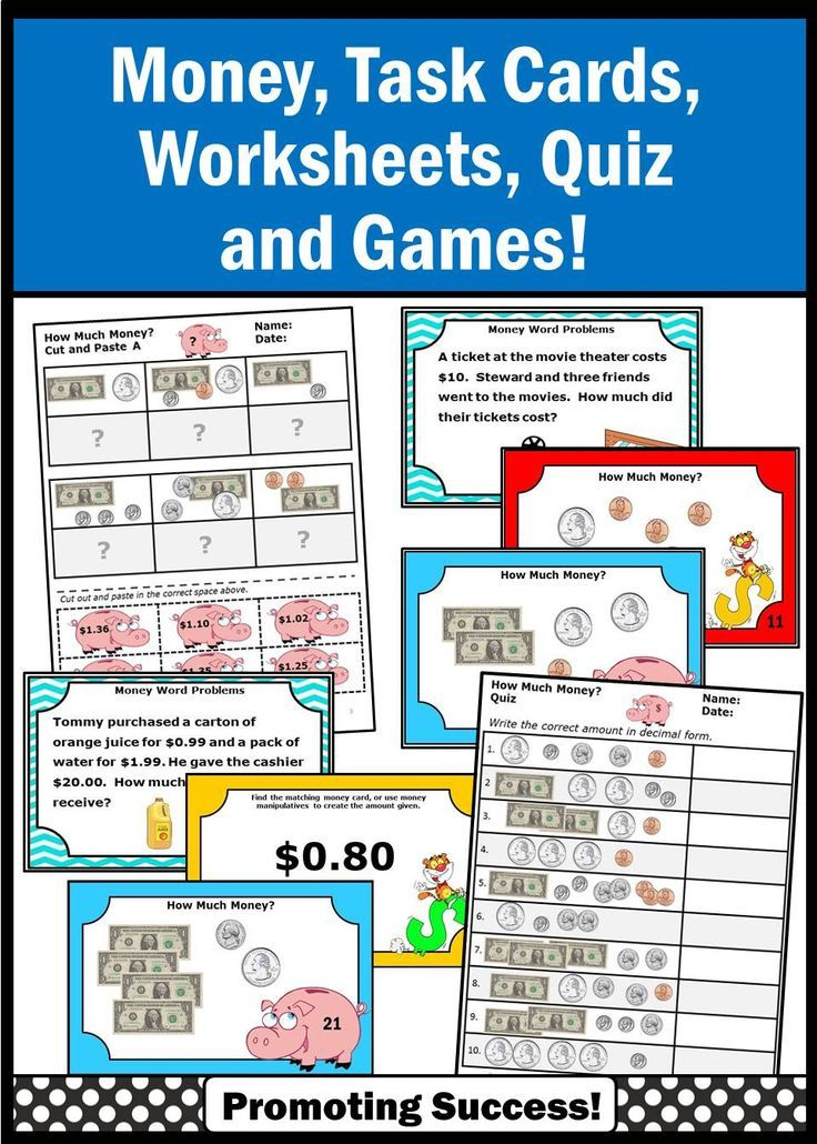 Science Worksheets Ks3 Excel Best  Money Worksheets Ideas Only On Pinterest  Counting Money  Worksheet For Multiplication Pdf with Worksheets For Odd And Even Numbers Pdf Counting Money Task Cards Nd Grade Math Bundle Dollars And Cents  Activities Intro To Chemistry Worksheets Word