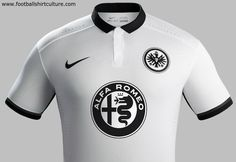 Eintracht Frankfurt 15/16 Nike Away Kit