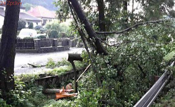 Hromy, blesky, průtrž: Hasiči na jižní Moravě se při páteční bouřce nezastavili!