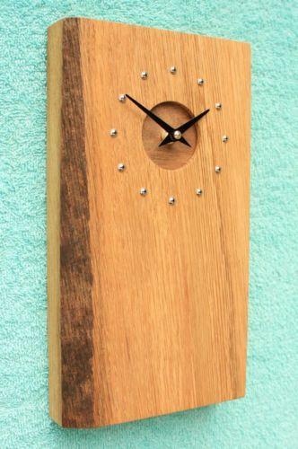 Wooden Oak Clock