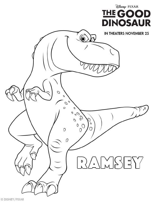 The Good Dinosaur #Free #Printable Coloring Sheets, Games ...