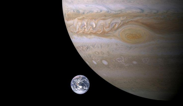 Jupiter shielding Earth