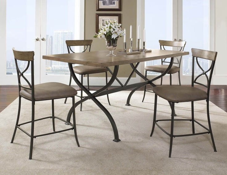hillsdale charleston dining table. hillsdale charleston rectangle wood counter height table - kitchen \u0026 dining room tables at hayneedle o