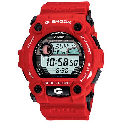 G-SHOCK G7900A-4 - Red version of the one I have now! $100 not too shabby.