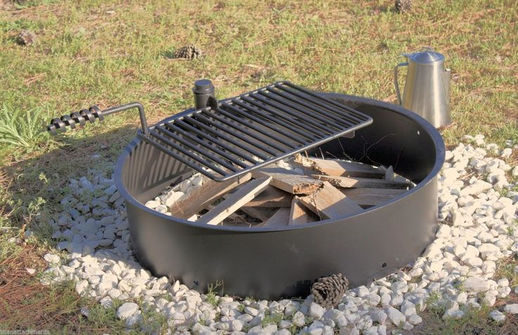fire pit grate 32 quot steel ring with cooking grate 29233