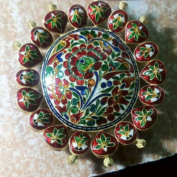 Bikanerimeenakari Jaipur Jewelry Vintage Jewellery Rings Jewelry Design