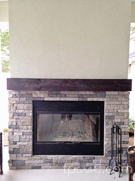 TPcraft.com: AirStone Fireplace Remodel