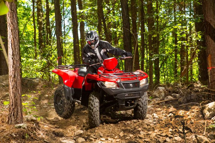 New 2017 Suzuki KingQuad 500 AXi ATVs For Sale in Florida. 2017 Suzuki KingQuad 500 AXi, In 1983, Suzuki introduced the world's first 4-wheel ATV. Today, Suzuki ATVs are everywhere. From the most remote areas to the most everyday tasks, you'll find the KingQuad powering a rider onward. Across the board, our KingQuad lineup is a dominating group of ATVs. With a long list of technologically advanced features, the 2017 Suzuki KingQuad 500AXi is equally at home on tough trails or helping you…