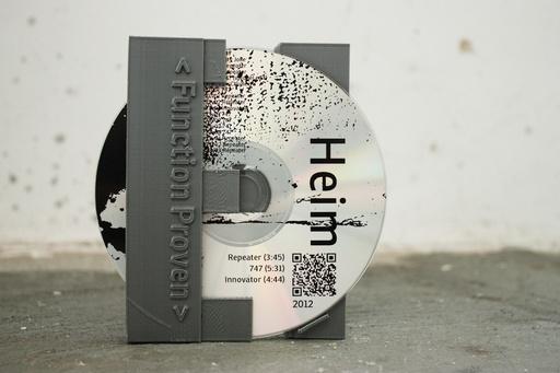 House of Design   News   eerste-3d-geprinte-cd-hoesje-