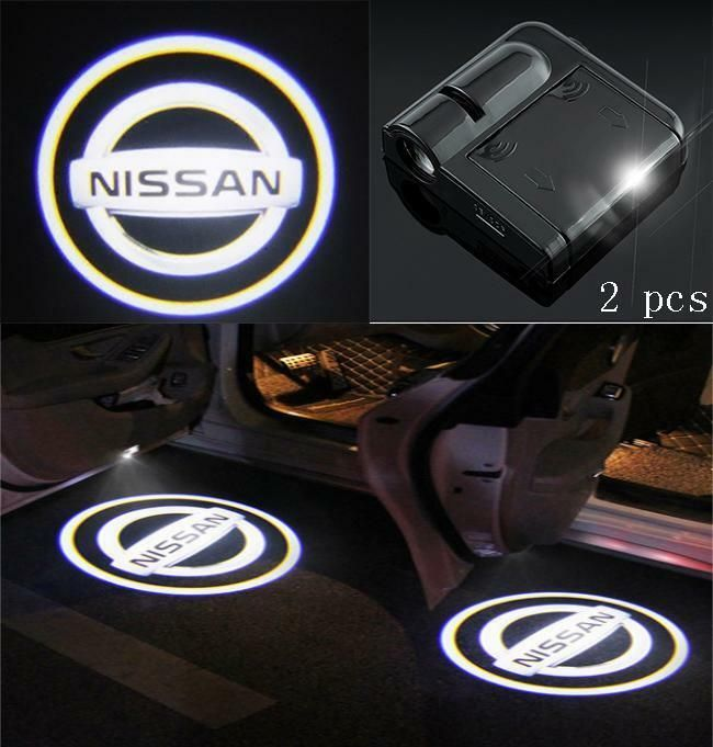 Led Car Door Welcome Laser Projector Logo Courtesy Ghost Shadow