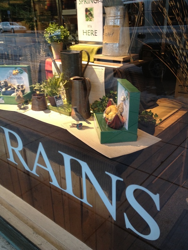 Rains of Ojai, an upscale department store in business for more than 100 years!