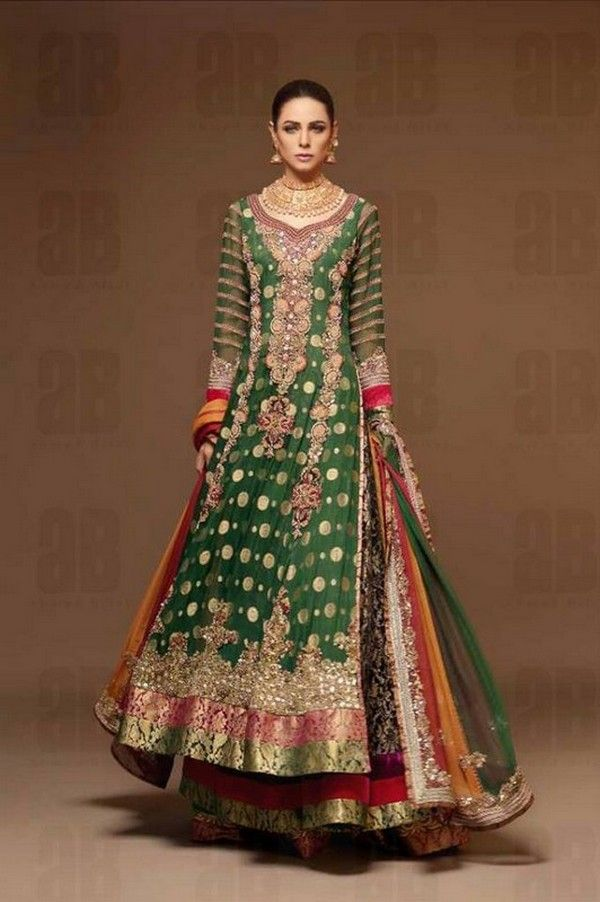 Ahmad Bilal Wedding Dress Collection 2013-2014 For Bridal Wear Ahmad Bilal |