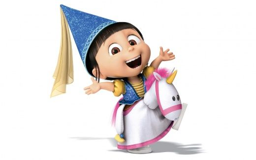 Despicable Me 2 AgnesDespicableme2, Minions, Costumes, Favorite Villain, Despicable Me 2, Agnes, Mi Villano, Parties Ideas, Unicorns
