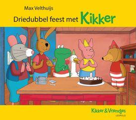 Driedubbel feest met Kikker   Beertje is jarig. Maar waar is zijn cadeautje? Kikker en zijn vriendjes hebben een dag vol verrassingen georganiseerd.  Als het regent kun je niet buiten picknicken. Maar je kunt wel binnen stoelendans spelen!  Kikker en zijn vriendjes logeren bij Varkentje. Wie kan er het langste wakker blijven?  3 verhalen in 1: Kikker en het verjaardagsspel / Kikker en de stoelendans / Kikker en het slaapfeest