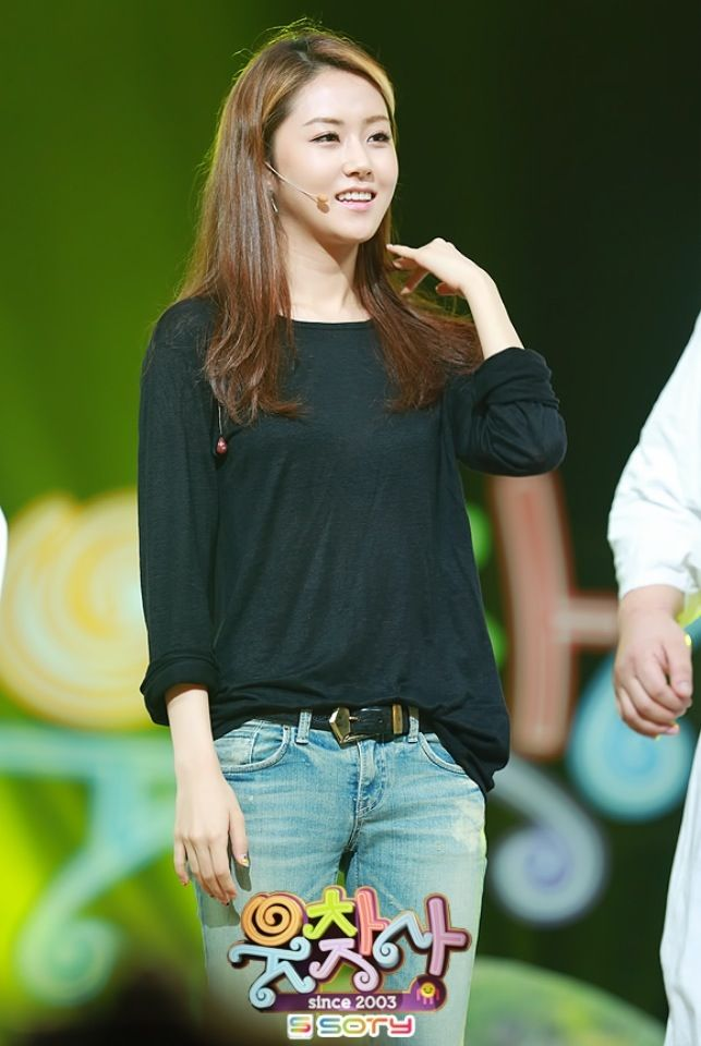 4Minute GaYoon @ TV Comedy Show