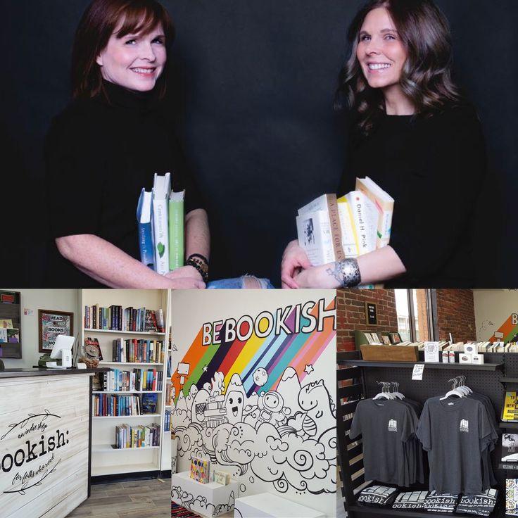 Jennifer Battles and Sara Putman recently opened Bookish