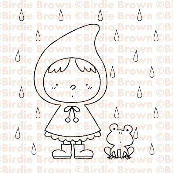 Digital+Stamp++Rainy+Day+by+BirdieBrown+on+Etsy,+$2.50