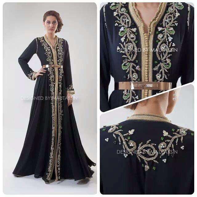 Pour cette saison d'Eté 2017 nous vous lançons ces nouvelles créations haut de gamme de magnifiques robes Marocaines : takchita et caftan 2...