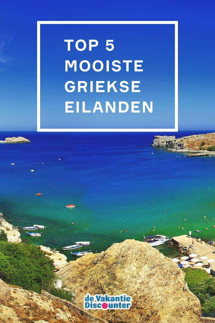 Benieuwd wat de mooiste Griekse eilanden zijn? Lees snel verder.