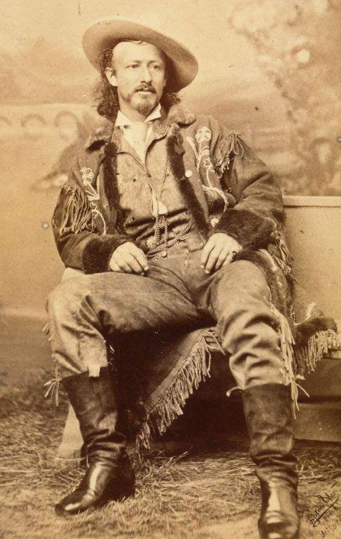 "Texas Jack Omohundro, Born John Baker Omohundro July 26, 1846   Pleasure Hill, VA Died  June 28, 1880 (aged 33)   Leadville, CO, also known as ""Texas Jack,"""