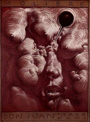 Franciszek Starowieyski, Don Juan Moliere, 1983