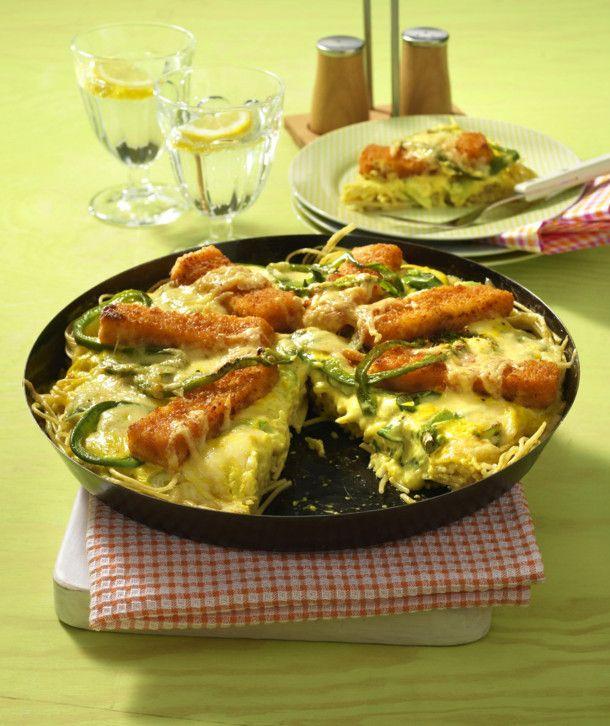 Unser beliebtes Rezept für Fischstäbchen-Pizza und mehr als 55.000 weitere kostenlose Rezepte auf LECKER.de.