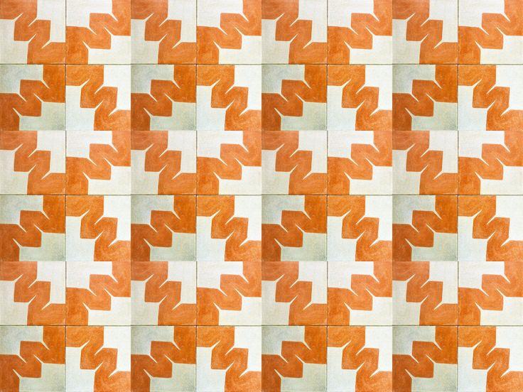 Mosaicos Artesanales en la ciudad de Oaxaca, Mosaicos de Francisco Toledo, Mosaicos de Jan Hendrix - but the black and white colour way