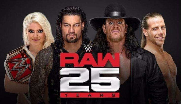 WWE Raw: 25 Years Breaking Records