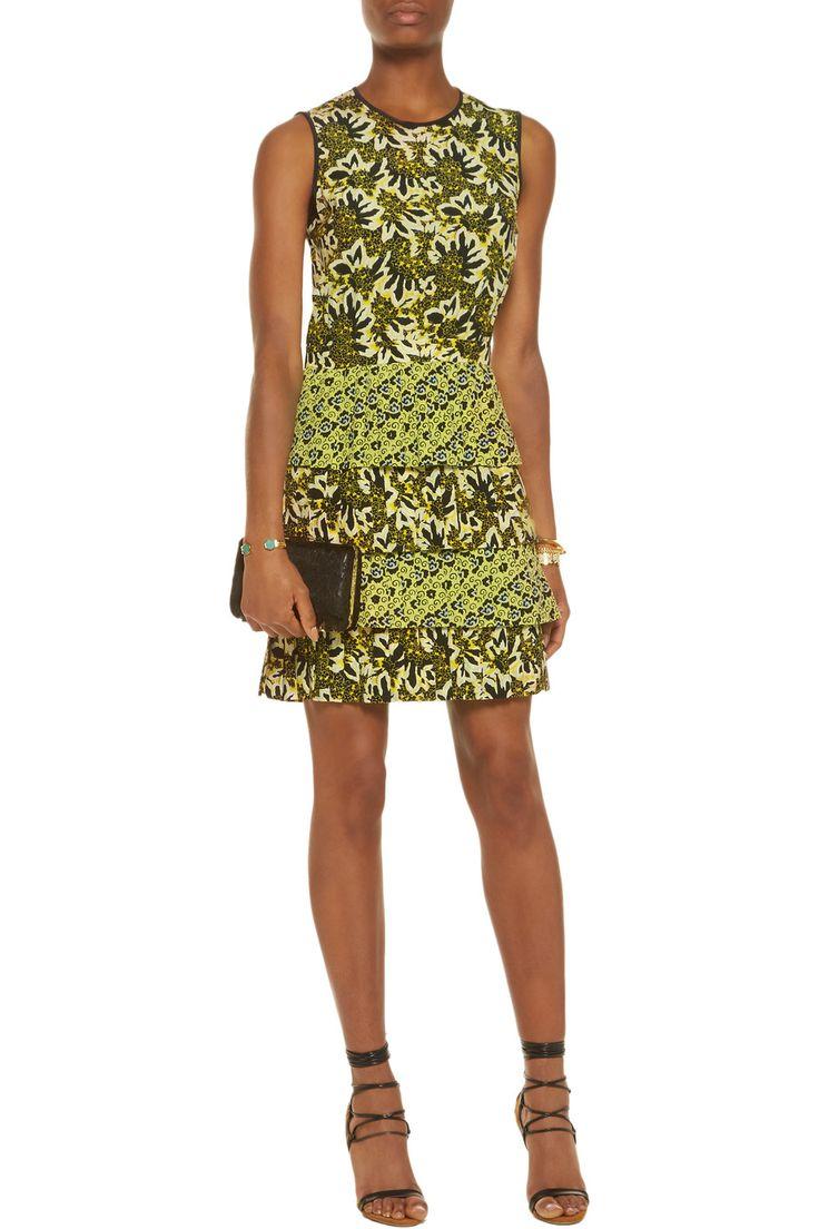 EtroFloral-print silk-crepe mini dressfront