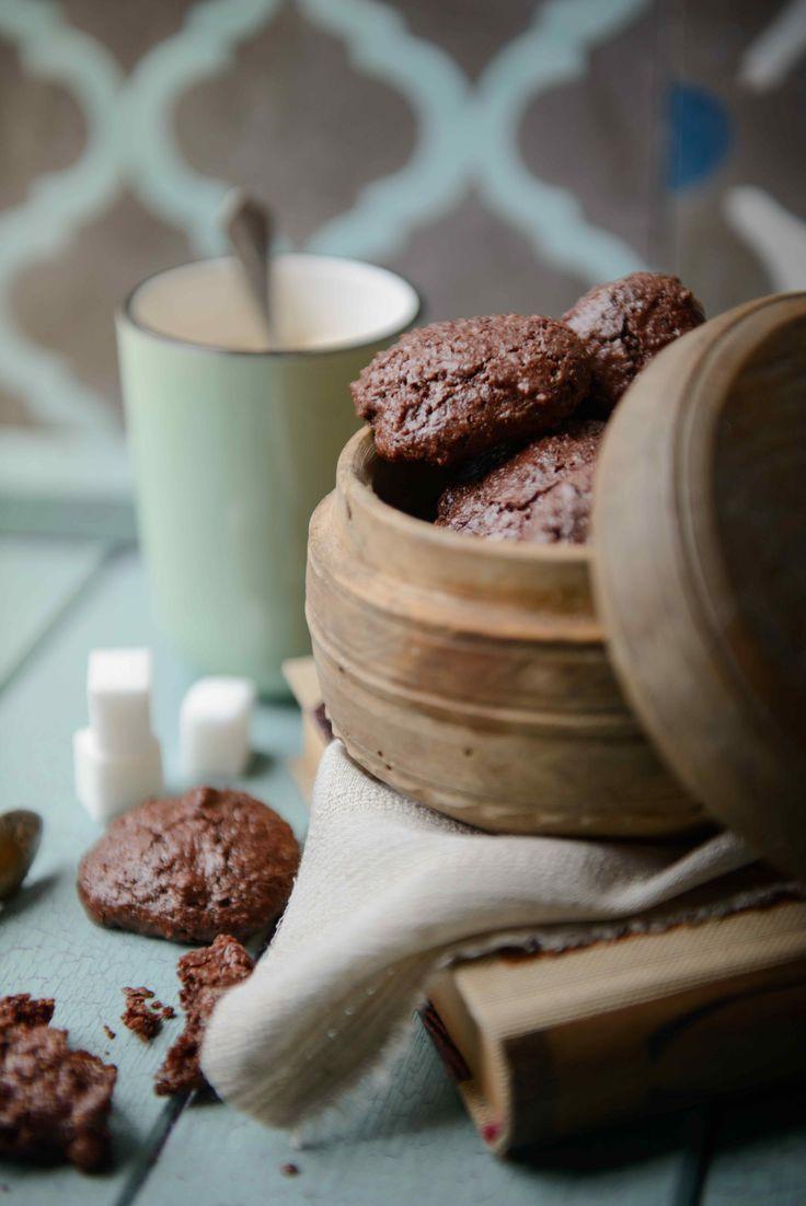 GLUTÉNMENTES és finom - Lusta csokis-diós keksz