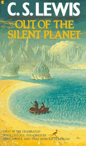 .really liked these as a kid: Out Of The Silent Planets, Reading Book, Spaces Trilogy, Cslewis Outofthesilentplanet, Planets Paperback, Science Fiction, Cs Lewis, Reading Lists, Hideous Strength
