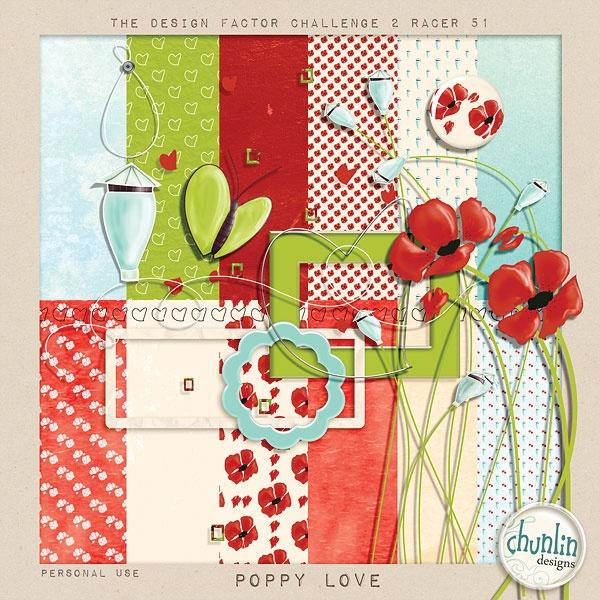 free poppy kit: Free Poppies, Poppies Kits, Digital Scrapbook