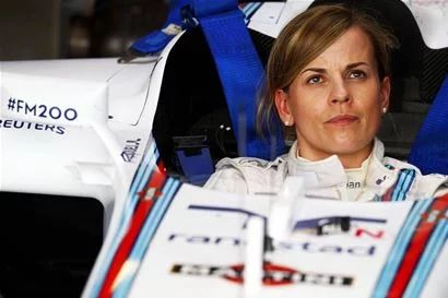 Dont forget the girls in F1. 28 November 2014 Susie Wolff Appointed Official Test Driver for the 2015 Season. In this role Susie will be driving the Williams Mercedes FW37 in two FP1 sessions and two test days during the 2015 Formula One season.