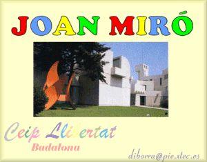 Projecte de plàstica sobre Joan Miró