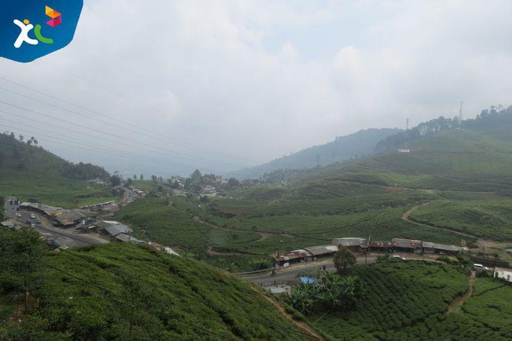 banyak daerah sejuk di Indonesia, nah salah satunya ini nih di Bogor, indah nan sejuk :)