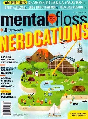 Mental Floss Magazine #funfindings