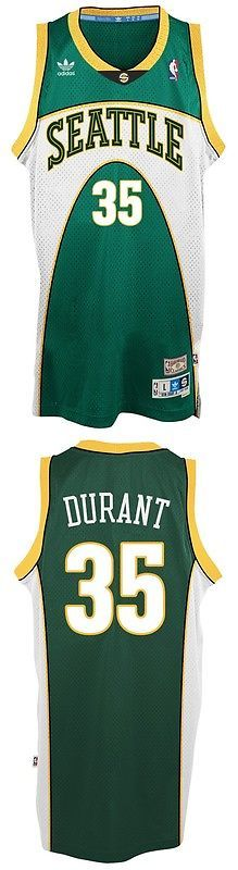 Basketball-NBA 24442: Kevin Durant Seattle Supersonics Adidas Nba Throwback Swingman Green Jersey -> BUY IT NOW ONLY: $69.95 on eBay!