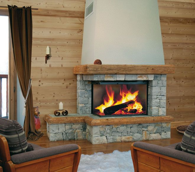 17 Best images about Fireplace Chalet on Pinterest Jade, Metals and Hearth # Chalet Pierre Et Bois