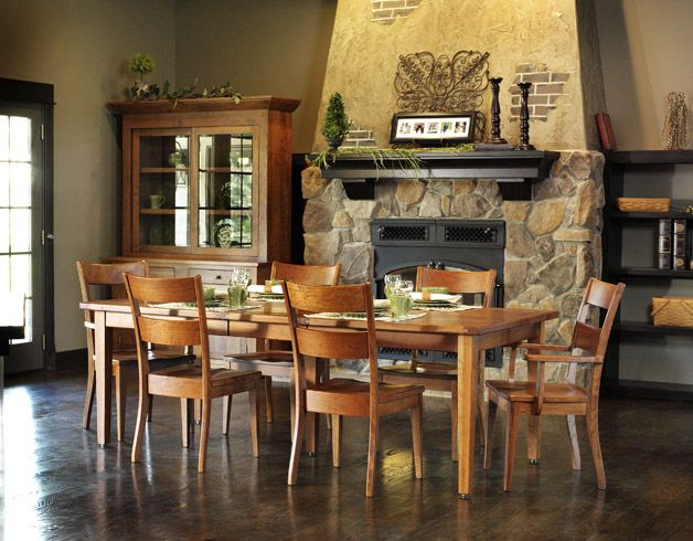 American Made Dining Room Furniture 33 Best Amish Furniture Images On Pinterest  Solid Wood .