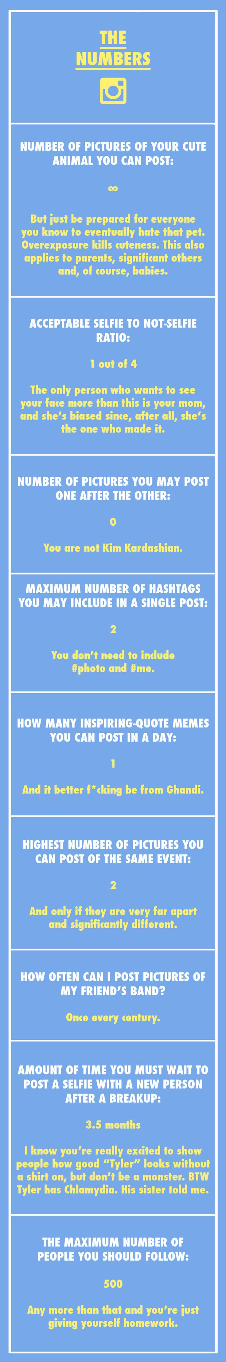 The Ultimate Instagram Etiquette Guide We Should All Live By (Photos)