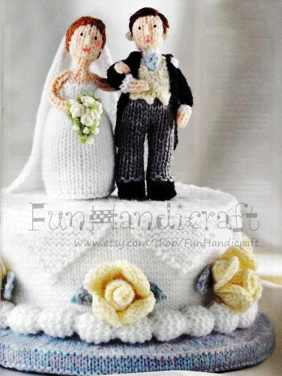 Free Amigurumi Wedding Couple Pattern : Best knitted wedding dolls images on pinterest