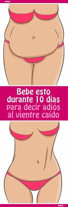 Bebe esto durante 10 días para decir adiós al vientre caído #vientre #barriga #abdomen #bajar #eliminar #grasa #batido #desayuno #quemar