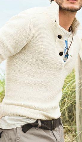 white sweater - men's fashion style ...