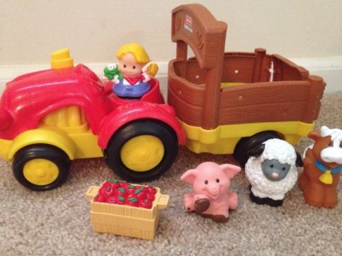 35 best fisher price little people sets we have images on pinterest fisher price little people tow pull tractor truck just tractor publicscrutiny Images