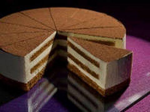 Бисквитный торт со сметанным кремом Просто и быстро - YouTube