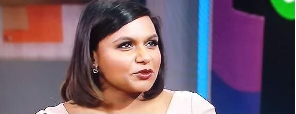 LOL! Mindy Kaling's answer to this awkwardly phrased question from George Stephanopoulos is AMAZING!